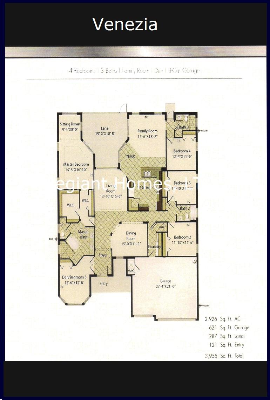 Venezia Floor Plan