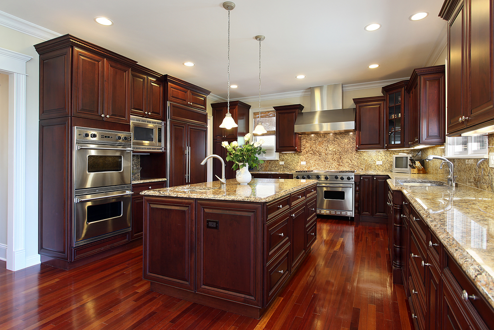 Kitchen Cabinetry & Granite Counters