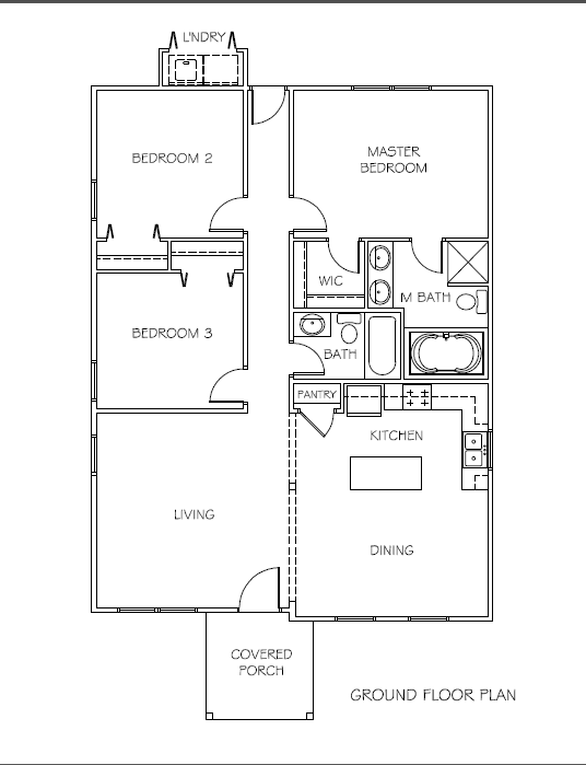 Covington Model Picture And Floor Plan Allegiant Homes Ltd